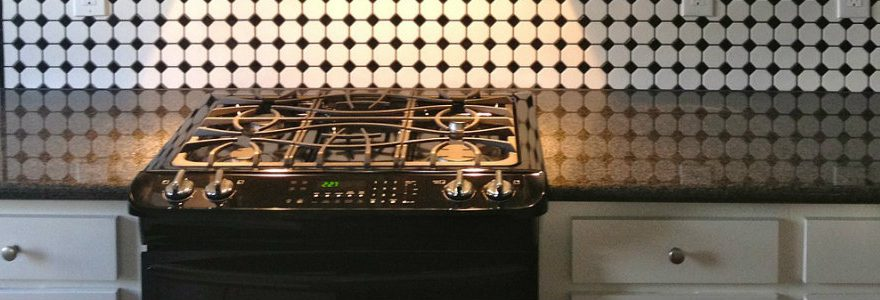 Gas oven top