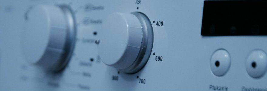 Washing machine dashboard