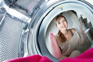 Washing machine inside
