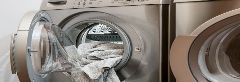 Clean clothes and washing machine