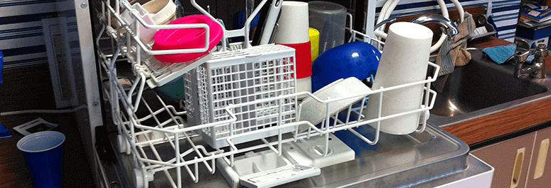 We offer dishwasher repair service