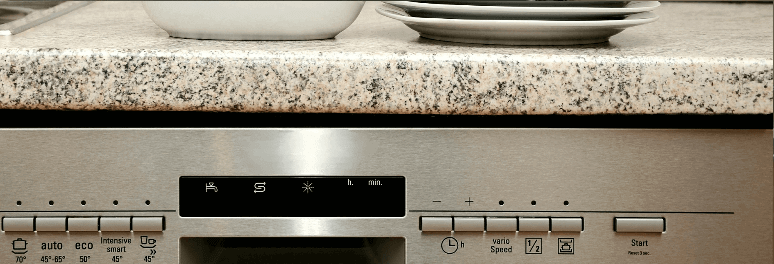 Electric oven control panel