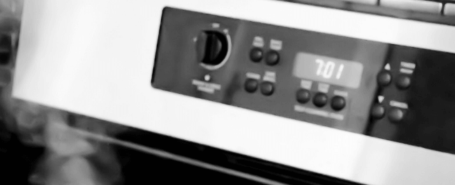 Electric Oven with Display