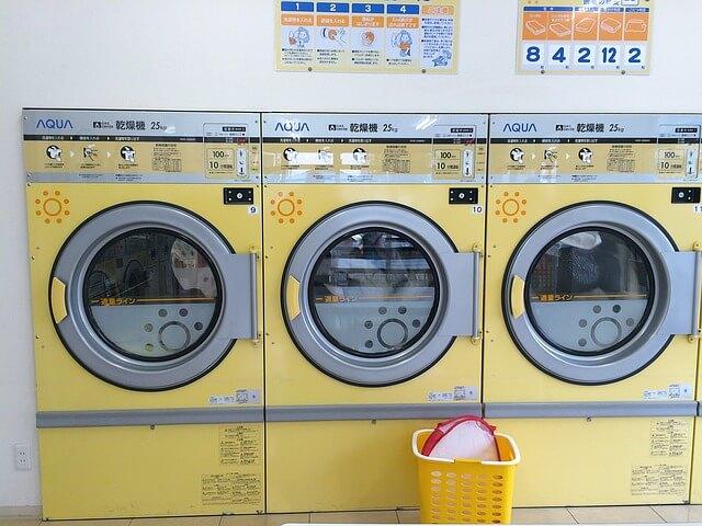 yellow tumble dryers in London