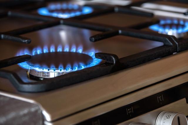 Modern gas oven
