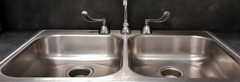 Chrome Kitchen Sink Taps