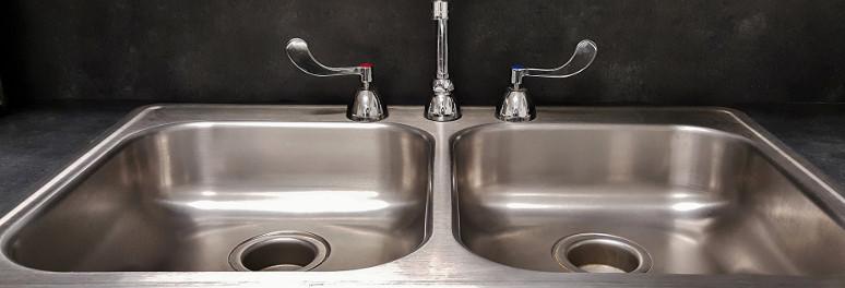 Chrome Kitchen Sink Taps