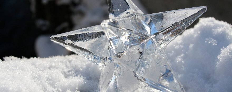 star made of ice